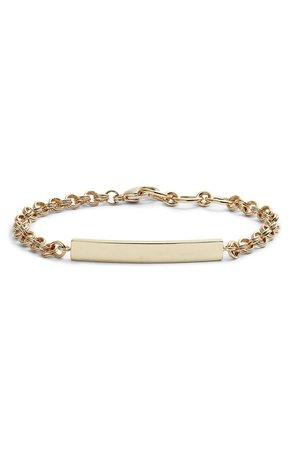 gorjana Lou Tag Bracelet | Nordstrom