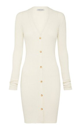 Misha Ribbed-Knit Cotton Midi Dress By Anna Quan | Moda Operandi
