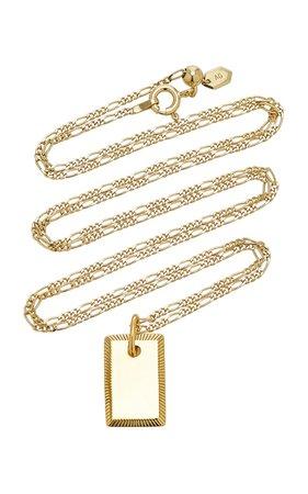 Eliza 18K Gold-Plated Necklace by Maria Black | Moda Operandi