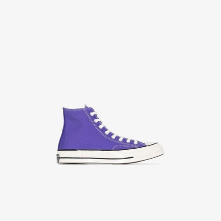 Purple Chuck 70 high top sneakers