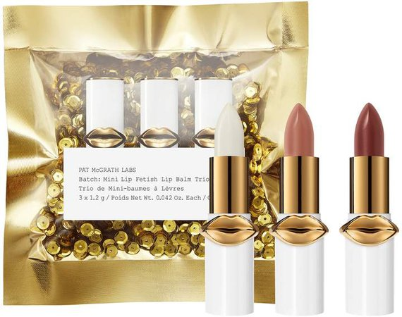 Pat Mcgrath Labs PAT McGRATH LABS - Mini Lip Fetish Lip Balm Trio
