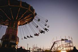 vintage carnival ride aesthetic photo - Google Search