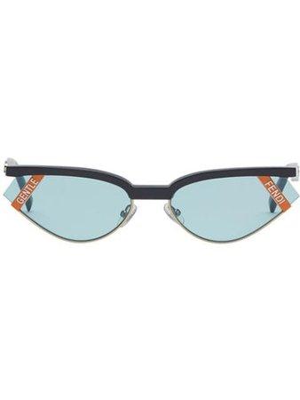 Fendi x Gentle Monster cat-eye Sunglasses - Farfetch