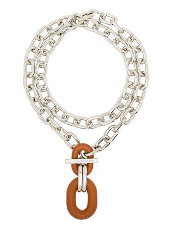 Paco Rabanne chain-link Appliqué Necklace - Farfetch