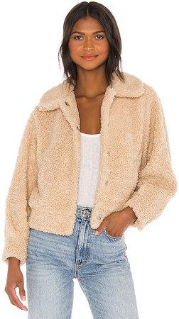 Marjorie Faux Fur Jacket