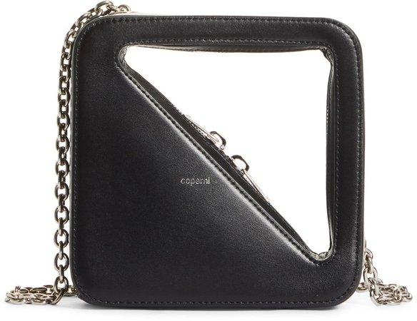 Mini App Leather Shoulder Bag