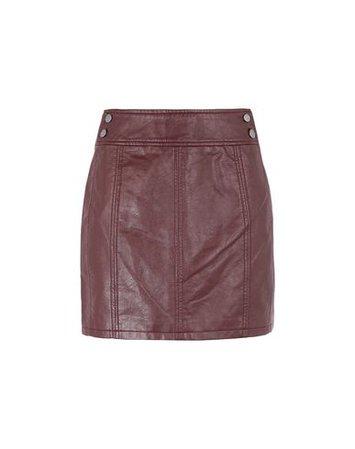 Free People Mini Retro Body Con - Mini Skirt - Women Free People Mini Skirts online on YOOX United States - 35386760BJ