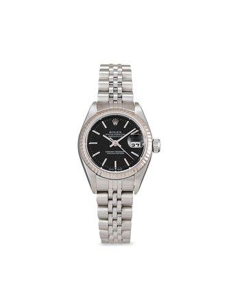 Rolex 2003 pre-owned Lady-Datejust 26mm - Farfetch