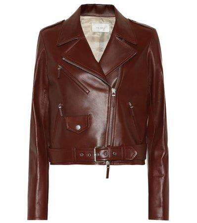 The Row - Leather jacket   Mytheresa