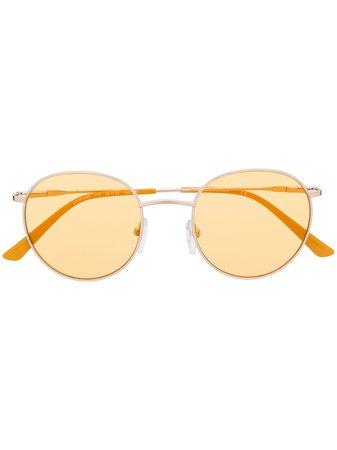 Calvin Klein Round Frame Sunglasses