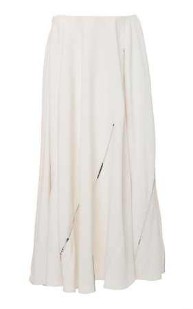 Twill Circle Skirt by Victoria Beckham | Moda Operandi