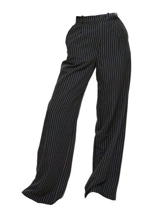 pin stripe high waist