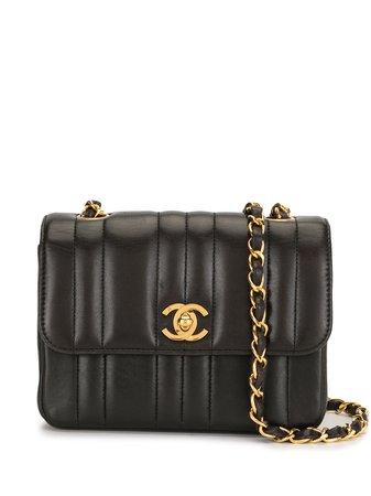 Chanel Pre-Owned стеганая сумка на плечо Mademoiselle 1995-го года - купить в интернет магазине в Москве | Цены, Фото.