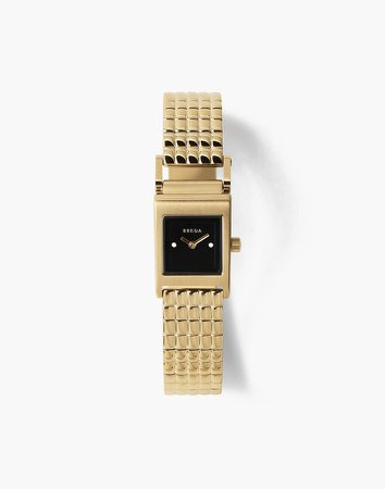 Breda Revel Gold and Metal Bracelet Watch