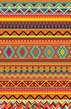 vintage southwestern aztec scarf