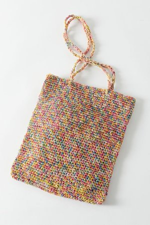 Hazel Straw Tote Bag   Urban Outfitters
