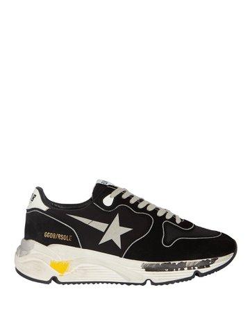 Golden Goose Running Sole Suede Sneakers   INTERMIX®