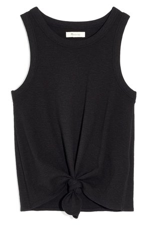 Madewell Audio Knot Front Tank | Nordstrom