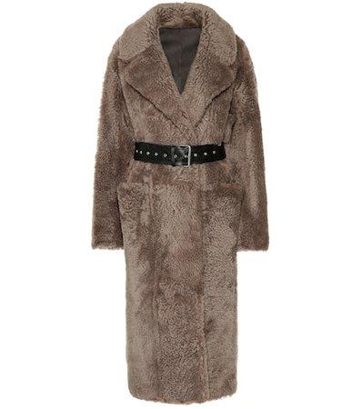Love shearling coat