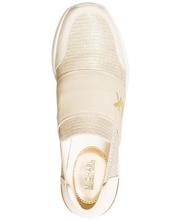 Champagne Michael Kors Felix Trainer Extreme Sneakers & Reviews - Athletic Shoes & Sneakers - Shoes - Macy's
