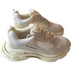Triple S leather low trainers BALENCIAGA