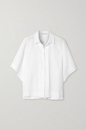 Chaney Linen Shirt - White