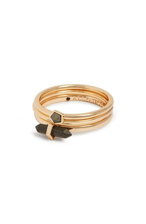 ALLSAINTS Set of 3 Stackable Rings | Nordstrom