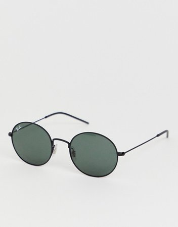 Ray-Ban 0RB3594 rounded oval sunglasses | ASOS