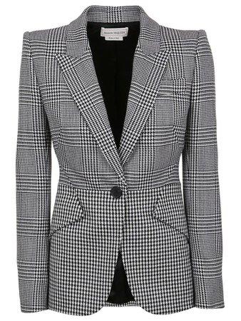 Alexander McQueen Alexander McQueen Jacket - Black Ivory - 10962316 | italist