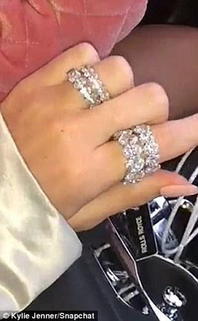 Kylie Jenner signature eternity band ring in oval – Bijouterie Gonin
