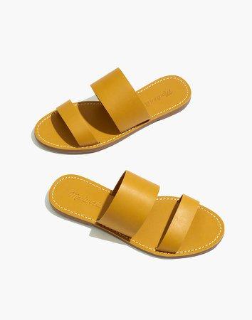 The Boardwalk Double-Strap Slide Sandal