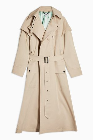 Ultimate Editor Trench Coat | Topshop stone