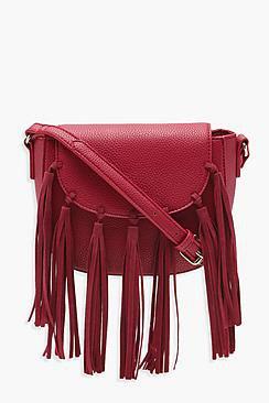 Ivy Boho Tassel Cross Body Bag