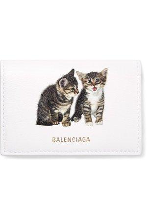 Balenciaga | Ville mini printed leather wallet | NET-A-PORTER.COM