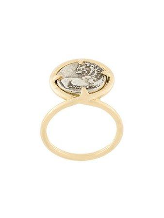 Dubini Chersonesos Lion Coin Ring