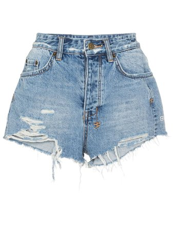 Ksubi Tongue N Cheek Denim Shorts - Farfetch