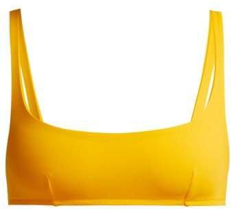 Quinn Bikini Top - Womens - Yellow