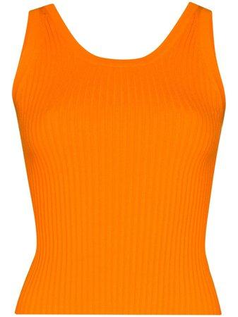 Matériel Ribbed Knit Tank Top Ss20 | Farfetch.Com