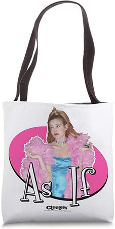 Clueless As If Tote Bag