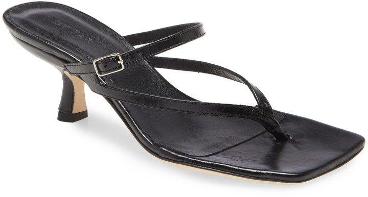 Desiree Leather Slide Sandal