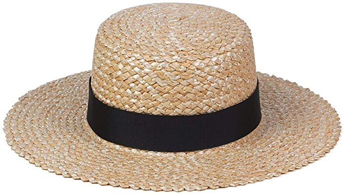 Lack of Color Women's Rico Straw Boater Sun Hat (Natural, Small (55 cm)) at Amazon Women's Clothing store