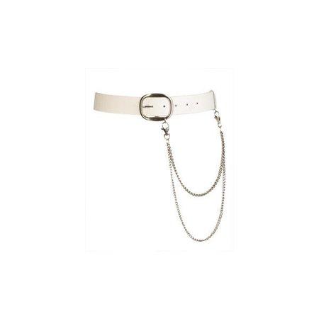 Clean PVC Belt - Teen Clothing by Wet Seal ($8.50)