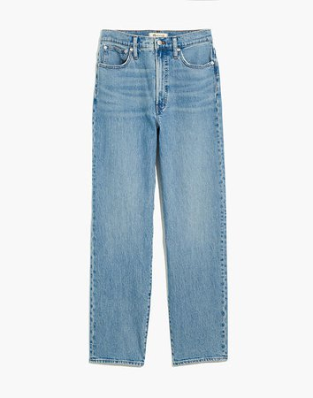 The Perfect Vintage Straight Jean in Hoye Wash