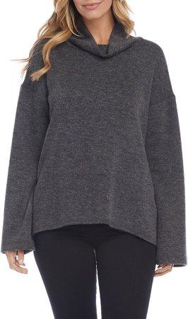 Double Knit Turtleneck Sweater