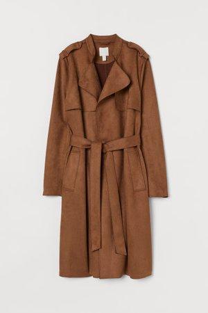 Trenchcoat - Brown - Ladies | H&M CA