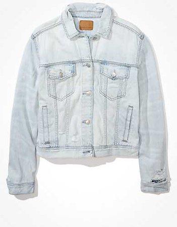 AE Classic Denim Jacket blue