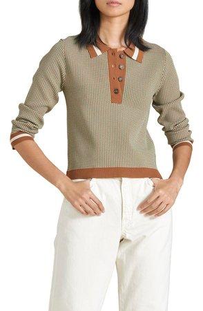 Hildy Long Sleeve Polo Shirt   Nordstrom