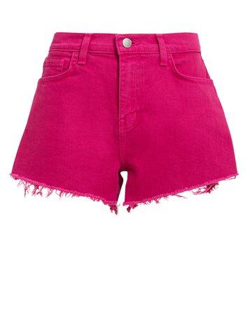 Ryland Magenta Shorts