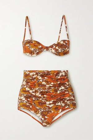 Dodo Bar Or Alexia Ruched Bikini