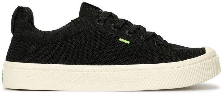 IBI Low Black Knit Sneaker